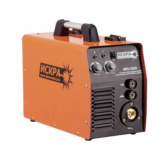 Зварювальний напівавтомат Іскра MIG 320S, фото 2