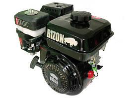 Двигатель Bizon 170F (7,0 л.с) вал 25 мм, шлицы