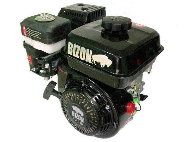 Двигатель Bizon 170F (7,0 л.с) вал 25 мм, шлицы, фото 2