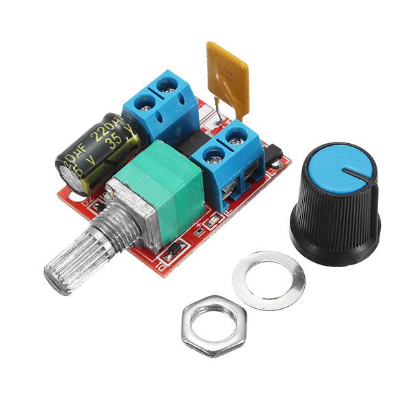 10Pcs 5V-30V DC PWM Контроллер скорости Mini Electrical Мотор Переключатель управления LED Модуль диммера-1TopShop