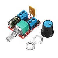 10 штук 5V-30V DC PWM Контроллер скорости Mini Electrical Мотор Переключатель управления LED Модуль диммера