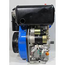 Двигатель дизельный Беларусь 178FE 7,0 л.с. шлиц, фото 3
