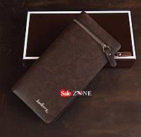 Клатч Baellerry italia коричневый, портмоне, кошелёк