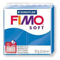 Пластика Fimo Soft 57 г Синяя (8020-37)