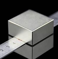 Польский неодимовый магнит 40х40х20 мм, 85кг, N42