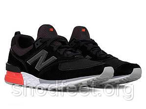 Подростковые кроссовки New Balance 574 MS574AB Black