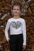 Блузка школьная для девочки 3674-1-1