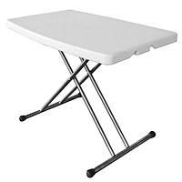 Розкладний стіл Onder Metal «TBY-3270» 76х50х74 /62 /54 див. Білий, фото 1