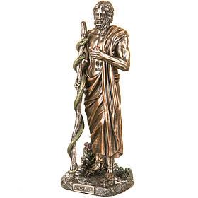 Статуэтка Асклепий бог медицины и врачевания 29 см Veronese 77123A4 Италия