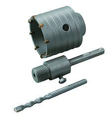Комплект : сверло корончатое по бетону 65 мм+ переходник SDS PlusHtools60K265