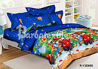 Комплект детского постельного белья Элвин и бурундуки