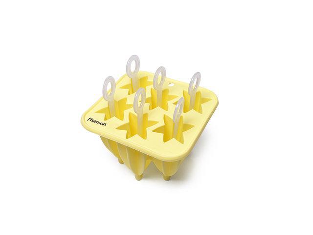 Форма для мороженого Fissman (Силикон, 6 ячеек )