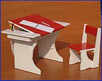 Растущая парта-стол «Муза» с бумагой в рулоне