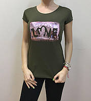 "Женская футболка ""LOVE"", фото 1"