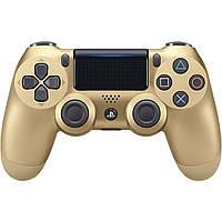 Беспроводной джойстик Sony Dualshock 4 V2 Gold, фото 1