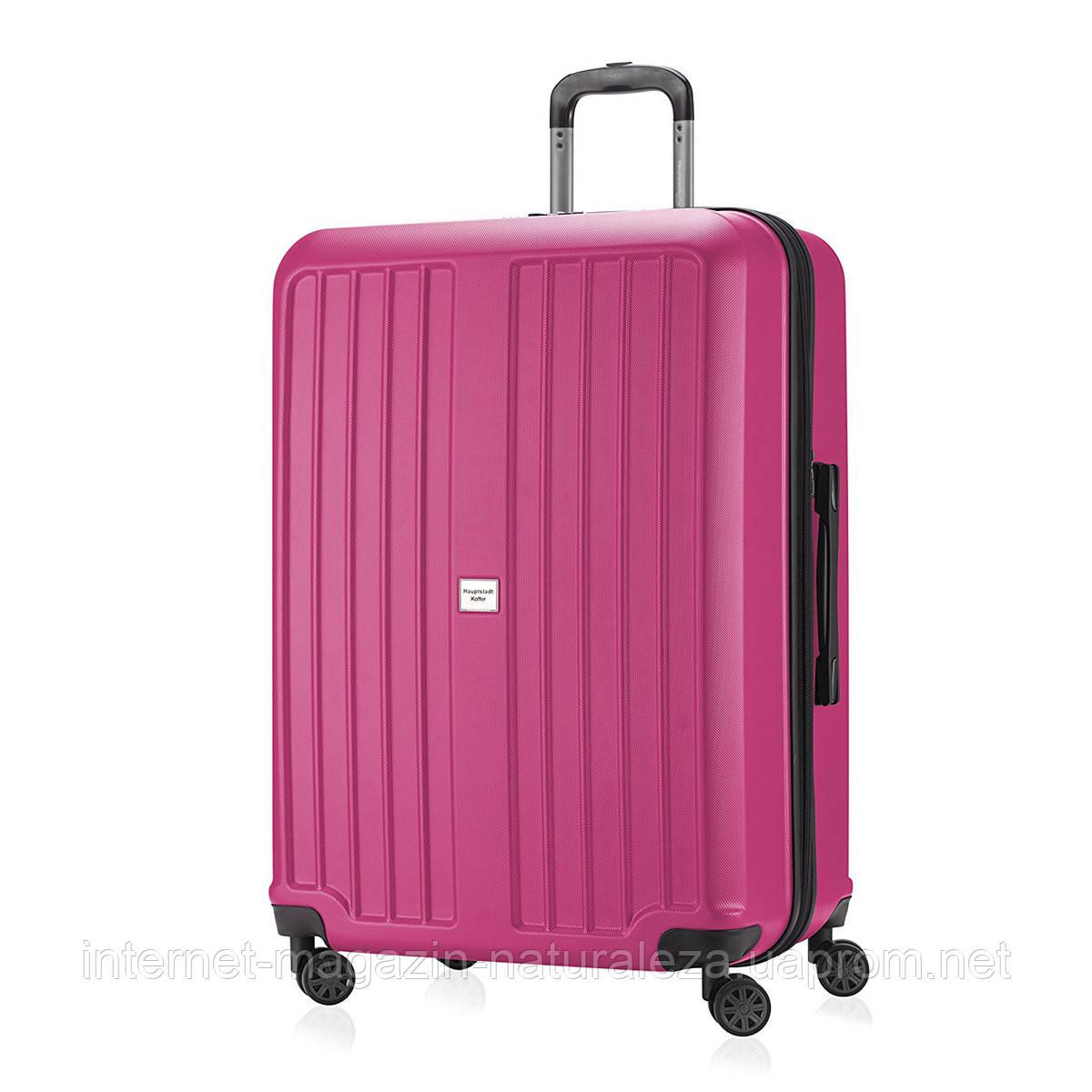 Валізи дорожні Hauptstadtkoffer Xberg maxi рожевий матовий