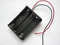 "Корпус для 3-х шт. АА аккумуляторов (бокс, держатель ""пальчиковых"" батарей)"