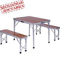 "Комплект ""Дует"" WZZ007A/Y5 (Стол+2 лавки)"