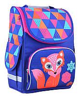 Школьный каркасный рюкзак 1 Вересня smart pg-11 fox для девочки (554505)