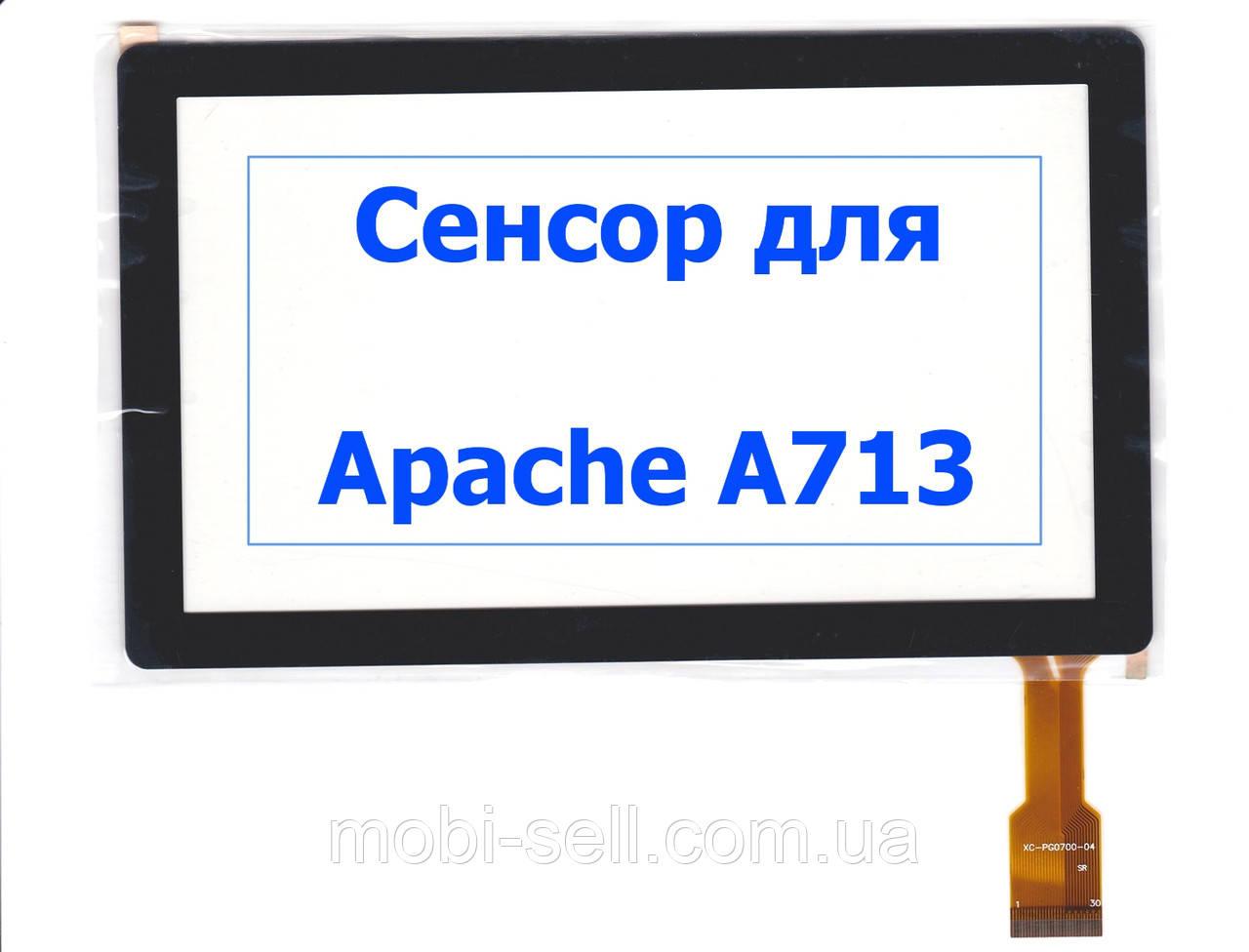 Сенсорный экран (тачскрин) для Apache A713