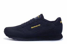 Мужские кроссовки Reebok CL Engineered Mesh Dark Navy Gold