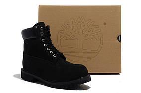 Мужские  ботинки Timberland 6 inch Black (Made in China - 2)