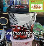"Корзина для белья из пластика с рисунком ""Лондон"" (London). Элиф (Elif), Турция, фото 2"