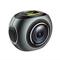 EKEN Pano V6 1440P Спорт DV Action камера 360 градусов Панорамное видео WIFI Dual камера
