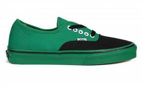 Мужские кеды Vans Chukka Low Green Black