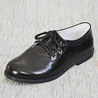 Школьные кожаные туфли, Eleven shoes р. 35