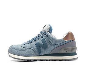 Женские кроссовки New Balance ML 574 Jeans Blue