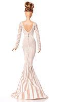 Колекційна лялька Барбі Дженніфер Лопес Червона Килимова Дорож (Jennifer Lopez Red Carpet Doll) X8287 Mattel, фото 3