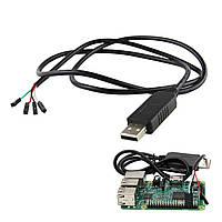 5 штук USB для TTL отладочного кабеля последовательного порта для Raspberry Pi 3B 2B/COM-порт
