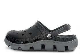 Женские шлепанцы Crocs Duet Sport Clog Dark Grey
