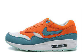 Женские кроссовки Nike Air Max 87 Bright Mandarin Mineral Blue