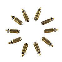 10SETS DIY 11MM Hex Brass Cylinder+Болт+Комплекты гайки для Raspberry Pi