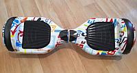 "Smart Balance Wheel Simple 6,5"" Граффити +баланс +апп, фото 1"