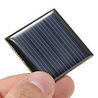 5 штук 2V 0.14W 70MA 40 x 40 x 3.0mm Поликристаллический кремний Солнечная Панели эпоксидные