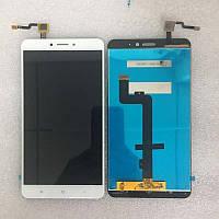 Дисплей (LCD) Xiaomi Mi Max 2 с сенсором белый