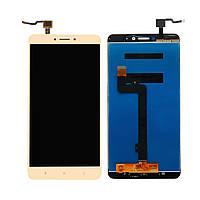 Дисплей (LCD) Xiaomi Mi Max 2 с сенсором золотой