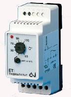 Терморегулятор для обогрева труб на DIN-рейку ETI-1551