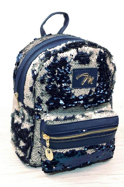 Рюкзаки с пайетками
