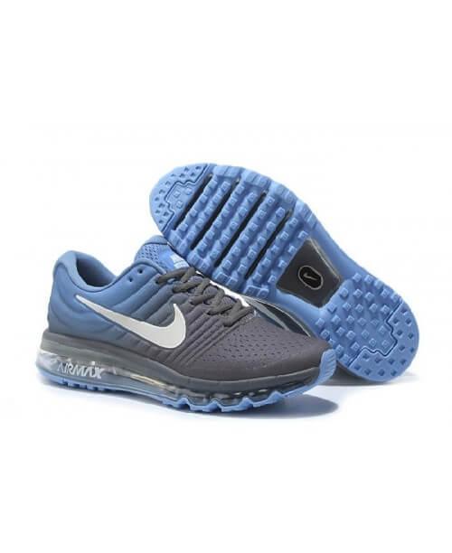 Кроссовки Nike Air Max 2017 Wolf Grey Light Blue