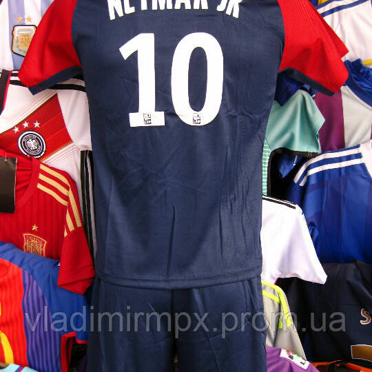 Футбольная форма Неймар для детей ФК ПСЖ , - интернет - магазин все для  футбола в 94b0919e6e6