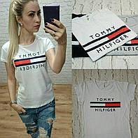 Турция! Стильная женская футболка белая S M L