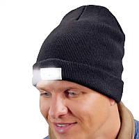 Ультра яркий 5 LED Зимний теплый шапочный шапочка Шапка Мужской световой фонарик для Кемпинг Пеший туризм Охота