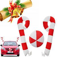 ФестивальрождественскойвечеринкиАвтоДекоративноеоформление Смешное украшение орнамента Сахарная форма
