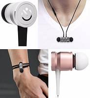 СТИЛЬНЫЙ Блютуз (Bluetooth 4.1)наушник JAKCOMBER WE2 без проводов с микрофоном Быстрая Зарядка На магнитах
