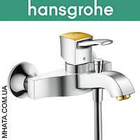 Смеситель Hansgrohe (art 31340090) для ванны Metropol короткий нос