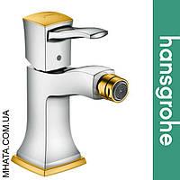 Смеситель Hansgrohe (art 31320090) для биде Metropol с рычаговой рукояткой, с донным клапаном